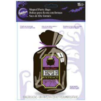 Shaped Bags 15 Pkg Drink Treat W9060
