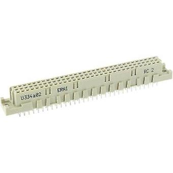 Edge connector (receptacle) 214836 Total number of pins 96 No. of rows 3