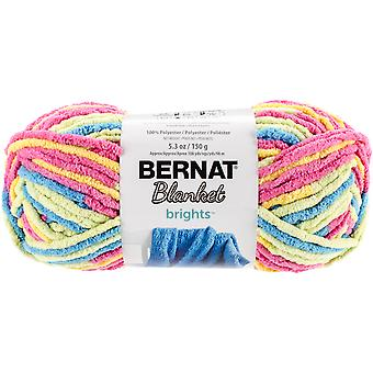 Bernat Blanket Brights Yarn-Sweet & Sour Variegated 161213-13013