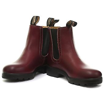 Blundstone 1443 Punch Hole Burgundy Womens Chelsea Boots  EU 38.5