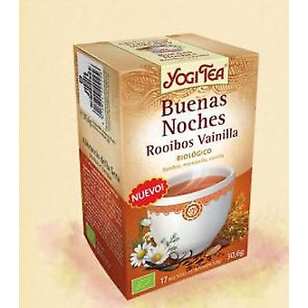 Yogi Tea Goodnight Rooibos Vanilla 17 Sachets