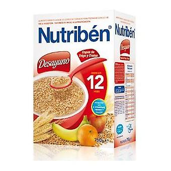 Nutribén Breakfast Flakes Wheat And Fruits 750 Gr