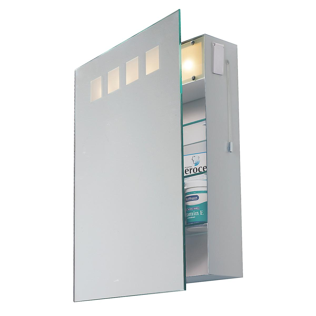 Dar ZEU94 Zeus Bathroom Mirror Cabinet