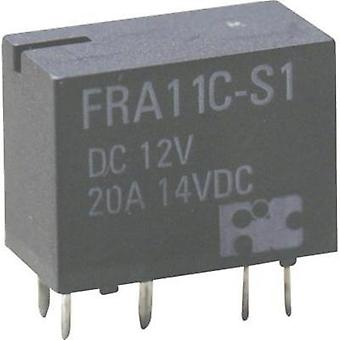Automotive relay 12 Vdc 20 A 1 change-over Hongfa FRA11C-S1-DC12V