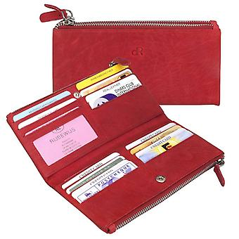 Dr Amsterdam ladies wallet Olive Tango Red