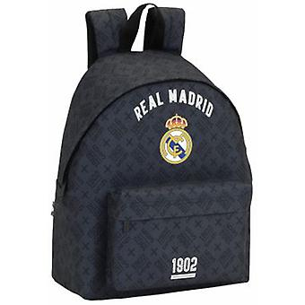 Safta Day Pack Estampado Real Madrid Black (Speelgoed , Schoolzone , Rugzakken)
