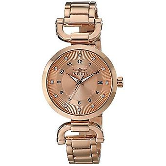 Invicta Women's 16227 Angel Analog Display Japanese Quartz Rose Gold Watch