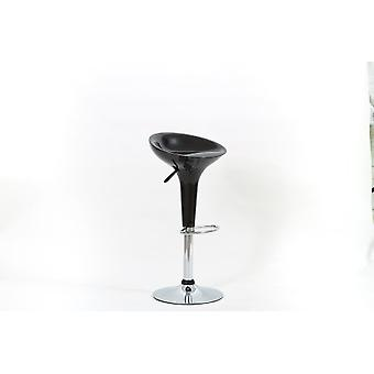 Talli Chrome And Abs Stool Swivel And Adjustable In Range Of Colours - Pack Of 2