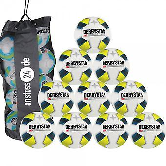 10 x DERBY STAR youth ball - X-Treme PRO LIGHT includes ball sack