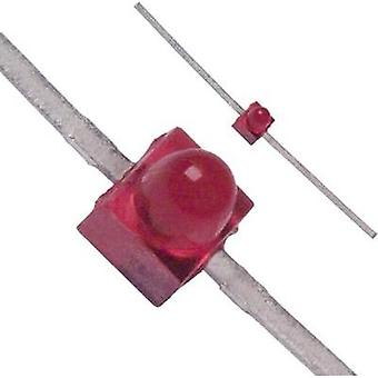 LED wired Red Circular 1.9 mm 1.8 mcd 90