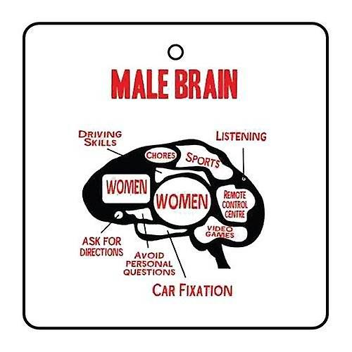 Male Brain Car Air Freshener