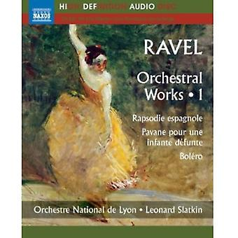 M. Ravel - Ravel: Orchestral Music, Vol. 1 [BLU-RAY] USA import