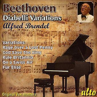Alfred Brendel - Beethoven: Diabelli Variations [CD] USA import