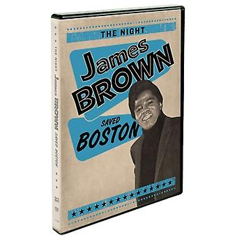Night James Brown Saved Boston [DVD] USA import