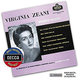 Zeani/Gavazzeni/Orchetra Del Maggio Musicale - Most Wanted Recitals: Virginia Zeani-Operatic [CD] USA import