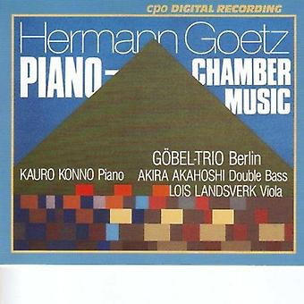H. Goetz - Hermann Goetz: Piano Chamber Music [CD] USA import