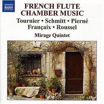 Tournier/Schmitt/Pierne/Francaix/Roussel - importazione di musica da camera francese flauto [CD] Stati Uniti d'America