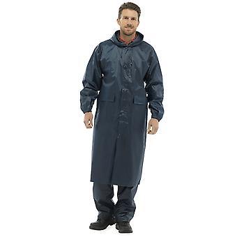 Storm Ridge Mens Drawcord-Hooded Waterproof Jacket