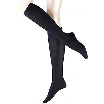Falke Sensitive Berlin Knee High Socks - Dark Navy