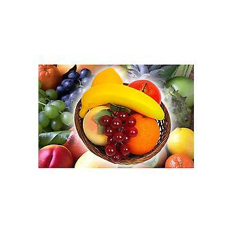 Falska produkter frukt korg deco
