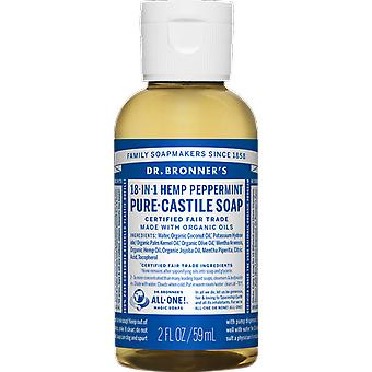 Dr Bronner 18-in-1 Hemp Peppermint Pure-Castile Soap