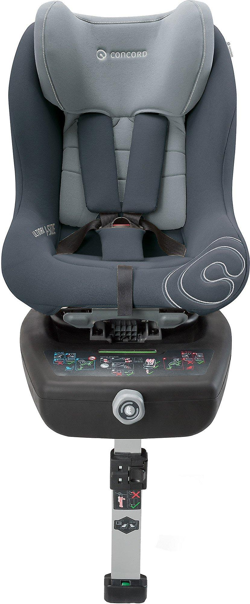 Concord UItimax i-Size Car Seat - Steel Grey
