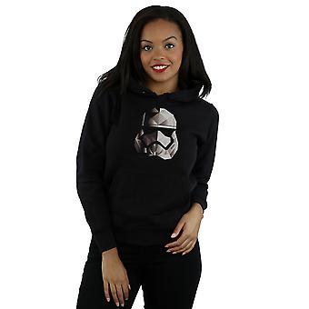 Star Wars kvinners den siste Jedi Stormtrooper Mono kubistiske hjelm hettegenseren