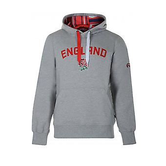 CCC Inghilterra Rugby Graphic Hooded Sweatshirt [grigio]