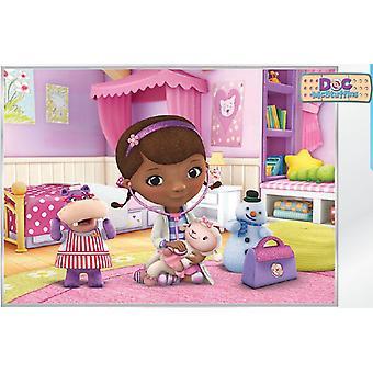 Disney Plys 368x254cm vægmalerier udsmykning læge