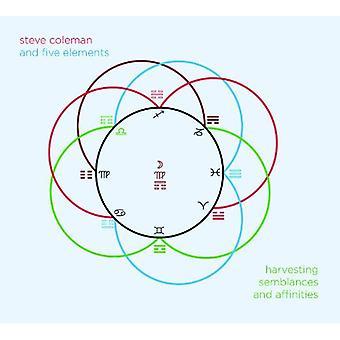 Coleman, Steve fem elementer - høst lighederne & tilhørsforhold [CD] USA import