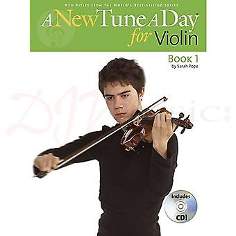 A New Tune A Day Violin 1 Book & CD