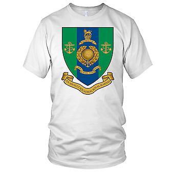 Royal Marines Commando 539 Assault Squadron Rendered Gold Badge Kids T Shirt