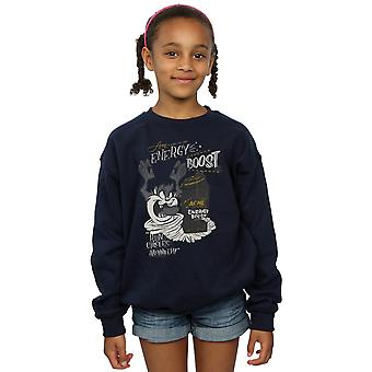 Looney Tunes Girls Taz Energy Boost Sweatshirt