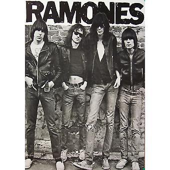 Ramones 1st Album Poster Poster Print