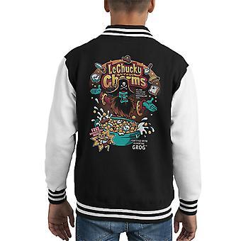 Monkey Island LeChucky Charms Kid's Varsity Jacket