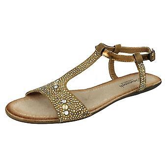 Ladies Savannah T-Bar Sandals F0771