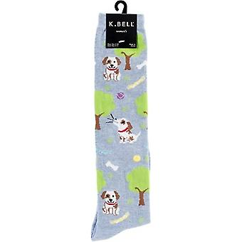 Novelty Knee High Socks-Dog Park KNEEHIGH-6N062