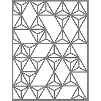 Neat & Tangled Die-Modern Triangle Cover Plate NAT290