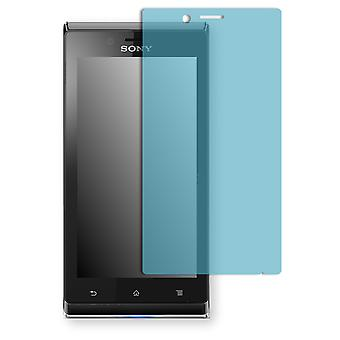 Sony Xperia ST26i screen protector - Golebo view protective film protective film