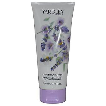 Yardley By Yardley English Lavender Body Wash 6.8 Oz (New Packaging)