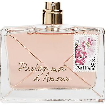 John Galliano Parlez-Moi D'Amour By John Galliano Eau De Parfum Spray 2.6 Oz *Tester