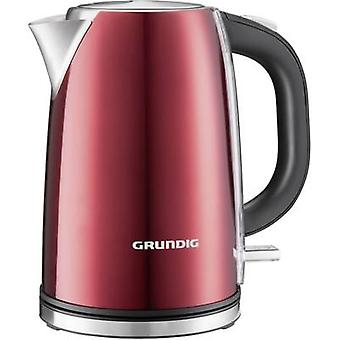 Kettle cordless Grundig WK 6330 Red (metallic), Stainless steel