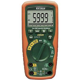 Handheld multimeter Digital Extech EX520 Calibrated to: Manufacturer's standards (no certificate) Waterproof (IP67) CAT