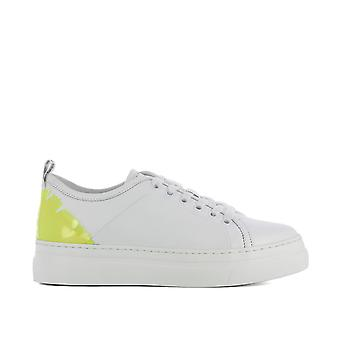 Msgm women's 2441MDS02070 White leather of sneakers