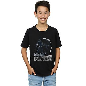 Avengers Boys Infinity War Black Panther Character T-Shirt