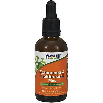 Now Foods Echinacea & Goldenseal Plus 60 ml (Herbalist's , Natural extracts)
