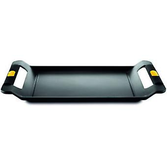 Castey Roaster Tray With Integrated Silicone Handles Classic Yellow