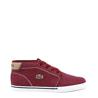 Lacoste uomo Sneakers rosso