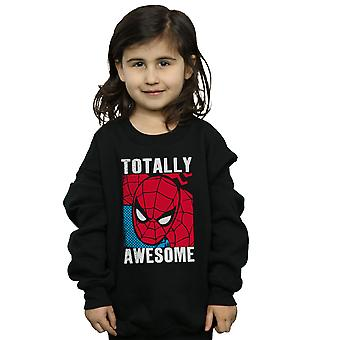 Marvel Girls Spider-Man Totally Awesome Sweatshirt
