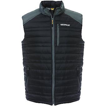 CAT Workwear Mens Defender Water Resistant Insulated Nylon Vest